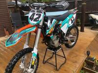 2014 ktm 450 sxf racing low hour bike