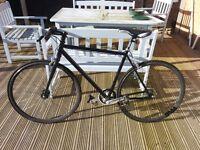 Fixie/single speed bike flip-flop hub road bike. Used in good condition.
