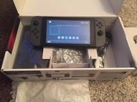 Nintendo Switch, as new with receipts, perfect box