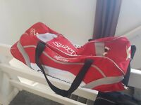 Slazenger cricket bag, good condition but needs a good clean