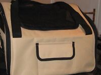 SMALL PET CARRY BAG B.N.W.T. FOLDS FLAT WITH BAG