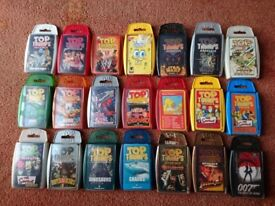 Over 40 Top Trumps Packs