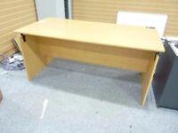 Office Bedroom Meeting Room Large Desk Table Light Wood Colour