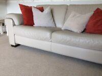 Natuzzi sofa and 2 armchairs