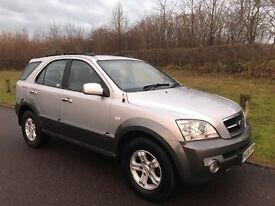 06 KIA SORENTO XS 2.5 CRDI DIESEL 4x4 MANUAL 94k FSH ONLY 2 OWNERS FROM NEW JAN 2018 MOT