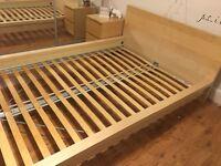 Malm 140x200cm Bed Frame