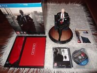 Hitman Collector's Edition with Statue of Agent 47 and Complete First Season Game/Mint Condition