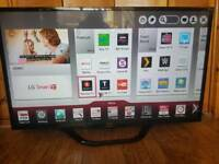 LG 47 Smart 3D HD LED TV with built in WiFI and freeview