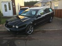 Loverly looking jaguar x type estate with lots of extras