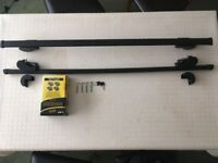Totus Universal Lockable Roof bars - Suitable for most vehicles fitted with roof rails