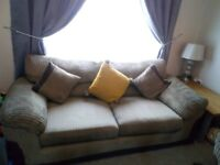 3 seater and 2 seater sofa lovely condition needs collecting asap as in the way only 1 yrold