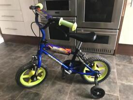 Avigo Childs Blue Thunder Bike with Stabilisers