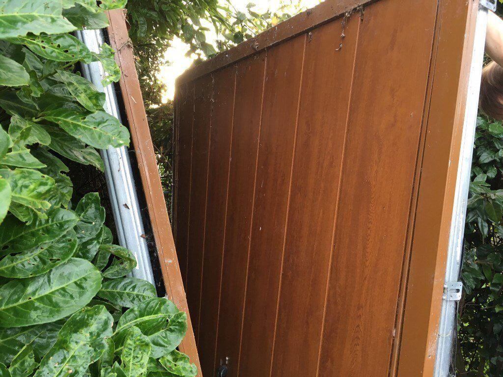 Single canopy garage door | in Clevedon, Somerset | Gumtree