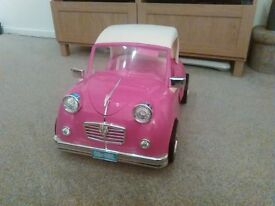 Our Generation pink convertible car
