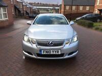 2010 10 LEXUS GS450H SE-L AUTO HYBRID SILVER NOT LS460 LS600H GS430 GS300