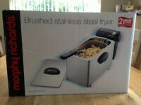 Morphy Richards Stainless Steel deep fat fryer - brand new in box