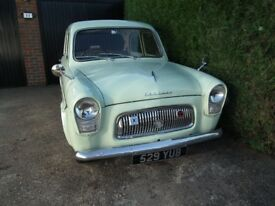 Ford Prefect 107e for restoration 45k mile 1000 miles last 10 years