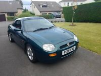 1996 MGF Sport | Racing Green With Soft Top and Removable Hard Top