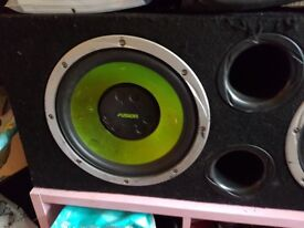 Fusion double sub and amp