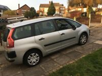 Hi I am selling Citroen c4 grand Picasso 7 seater it has 94000 miles on it with mot till July 2018