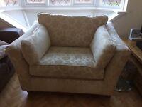 M&S love seat/ cuddle chair