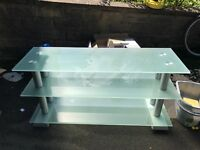 Glass TV STAND!!!!