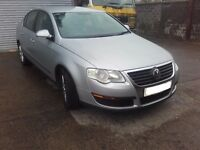 2005 VW Passat B6 1.6 FSI BLF saloon Manual BREAKING FOR PARTS SPARES Silver LA7W
