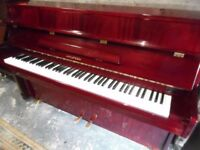upright modern piano by hyundai