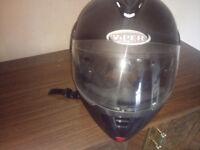 2 crash helmets for sale