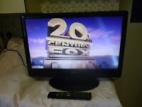 "Logik L24DVDB21 24"" 1080p Full HD LCD Television with DVD Player and Freeview"
