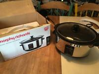 Murphy Richards Oval Slow Cooker