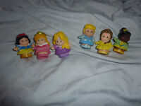 6 spinning princesses - Fisher-Price Little People Disney Princess Figure Pack
