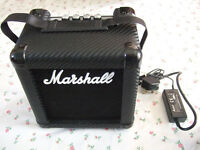 Marshall MG2CFX Mains/Battery Busking Electric Guitar Amplifier + Overdrive Chorus Reverb Delay amp