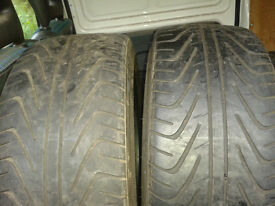 205/40/17 tyres x4. 2have 4 mill .and 2 have 7 mill tread left