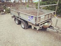 Ifor williams 10 x6 tipper 3500kg
