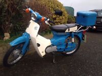 Honda C50 Moped Classic Original 1 Former Owner Low Miles New Tyres