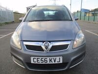 2007 VAUXHALL ZAFIRA 1.6 PETROL - 7 SEATER - 11 MONTHS MOT - SERVICE HISTORY - PX WELCOME