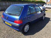 CHEAP CAR! EXTREMELY LOW MILES!!! Full mot. Peugeot 106 1.1