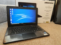"Brand new, boxed, Medion Akoya 11.6"" Quad-Core Full HD netbook."