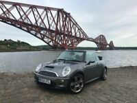 Mini Cooper 1.6 S Covertible...Full Service History..MOT'd March 2019..Full Black Leather Interior
