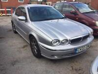 Jaguar X type 2.0 2002 starts and drives bargain cheap car spares or repairs