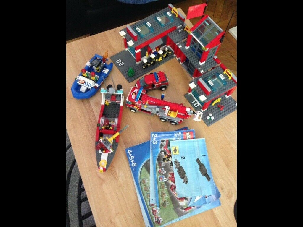 Lego Fire Station Sets 7945 60005 In Bushey Hertfordshire Gumtree