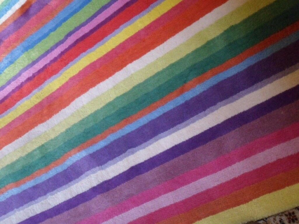 Rainbow Stripe Rug Area Rug Ideas