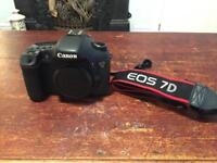Canon 7d DSLR with LowePro Backpack - £315