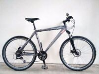 "(2690) 26"" 20"" Lightweight Aluminium CLAUD BUTLER MOUNTAIN BIKE BICYCLE DISC BRAKES Height:173-188cm"
