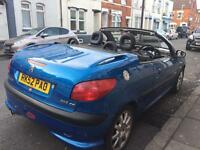 Peugeot 206cc 2.0L - Offers will be considered