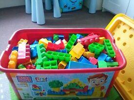Mega Blok First Builders 220 box