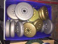 York vinyl weight plates