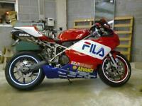 Ducati 749 fila