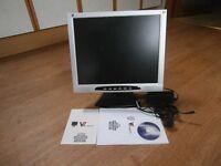 "Flatscreen monitor 19"" LCD TFT"